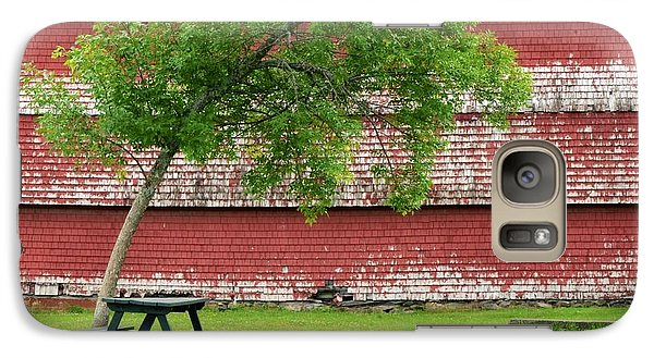 Galaxy Case featuring the photograph A Picnic For You And Me by Corinne Rhode