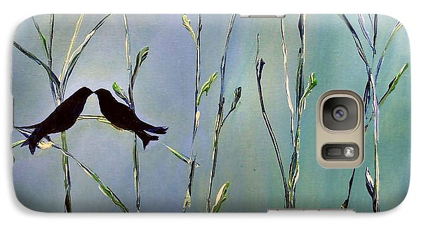 Galaxy Case featuring the painting A Place For Us by Dolores  Deal