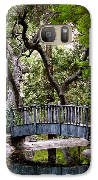 Galaxy Case featuring the photograph A Place To Meditate by Jan Cipolla
