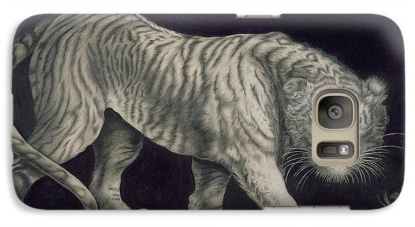 A Prowling Tiger Galaxy S7 Case