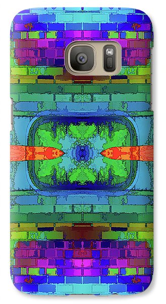 Galaxy Case featuring the digital art A Question Of Balance by Wendy J St Christopher