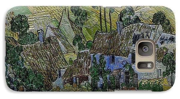 Galaxy Case featuring the painting A Replica Of A Painting  Of Van Gogh by Pemaro