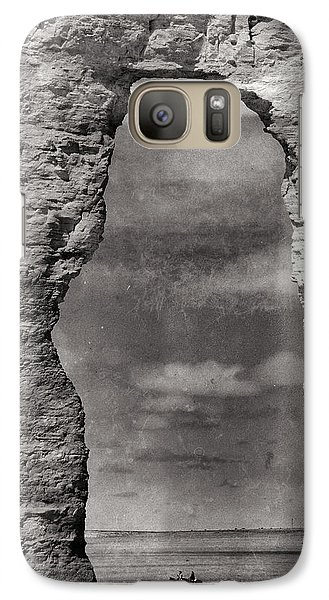 Galaxy Case featuring the photograph A Ride Through Time by Darren White