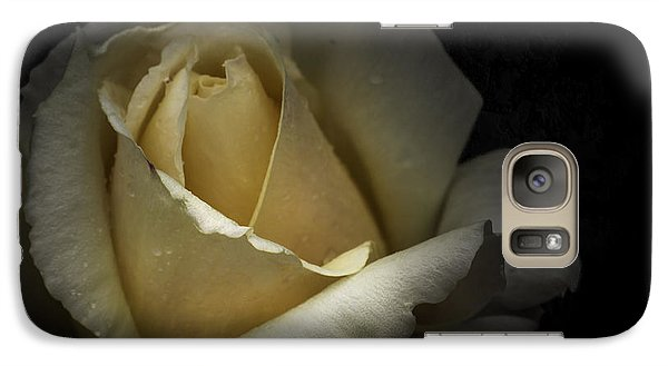 Galaxy Case featuring the photograph A Rose by Ryan Photography