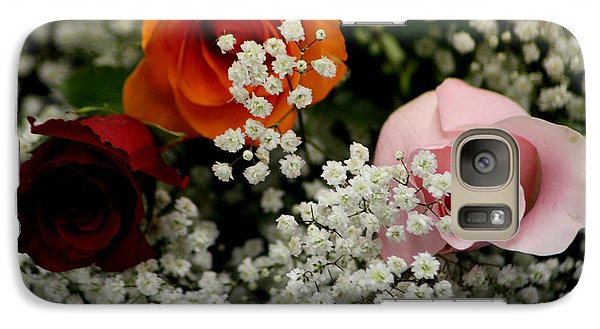 Galaxy Case featuring the photograph A Rose To You by Paul SEQUENCE Ferguson             sequence dot net
