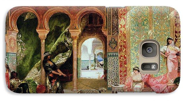 A Royal Palace In Morocco Galaxy Case by Benjamin Jean Joseph Constant