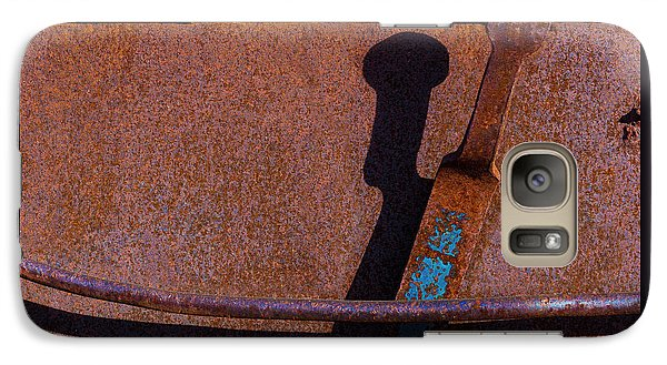 Galaxy Case featuring the photograph A Rusted Development II by Paul Wear