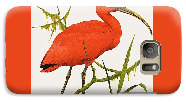 A Scarlet Ibis From South America Galaxy Case by Kenneth Lilly