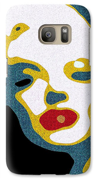 Galaxy Case featuring the digital art A Sexy Glance by Pedro L Gili