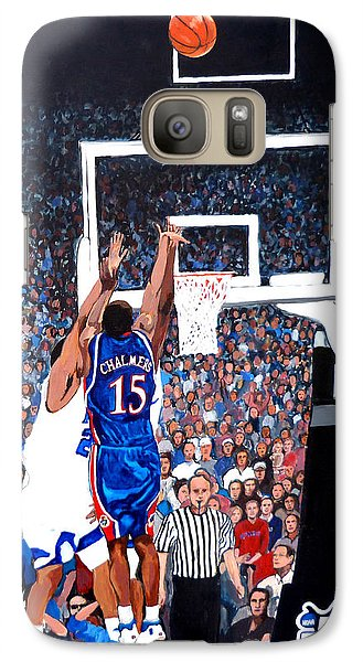A Shot To Remember - 2008 National Champions Galaxy S7 Case by Tom Roderick