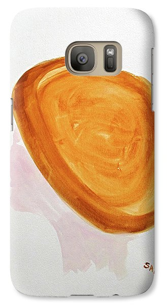 Galaxy Case featuring the painting A Simple Hat by Sandy McIntire