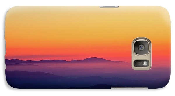 Galaxy Case featuring the photograph A Simple Sunrise by Douglas Stucky