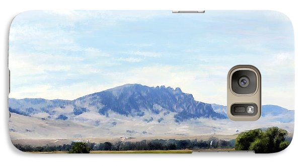 Galaxy Case featuring the painting A Sleeping Giant by Susan Kinney