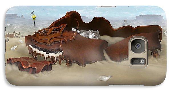 Buzzard Galaxy S7 Case - A Slow Death In Piano Valley Sq by Mike McGlothlen
