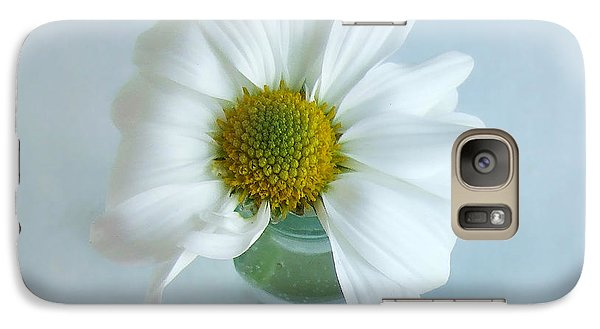 Galaxy Case featuring the photograph A Small Pleasure by Louise Kumpf