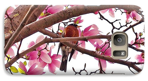 A Songbird In The Magnolia Tree - Square Galaxy S7 Case