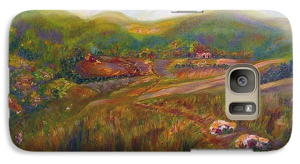 Galaxy S7 Case featuring the painting A Special Place by Claire Bull