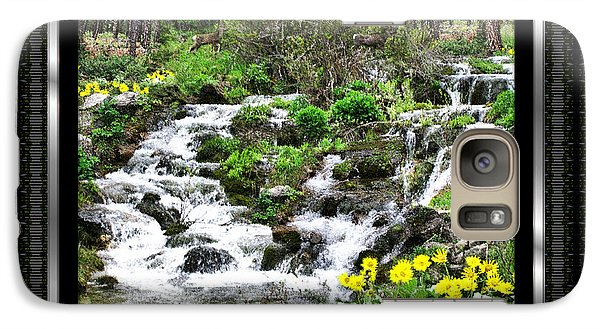Galaxy Case featuring the photograph A Splendid Day On Logging Creek by Susan Kinney
