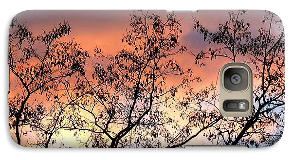 Galaxy Case featuring the photograph A Splendid Silhouette by Will Borden