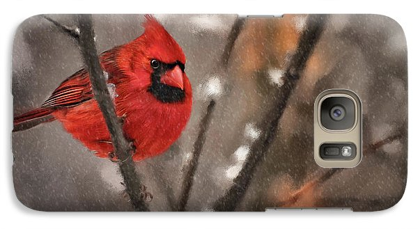 Galaxy Case featuring the digital art A Spot Of Color by Lois Bryan