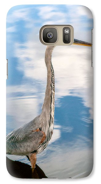 Galaxy Case featuring the photograph A Stroll Among The Clouds by Christopher Holmes
