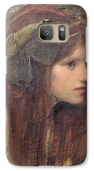 Portraits Galaxy S7 Case - A Study For A Naiad by John William Waterhouse