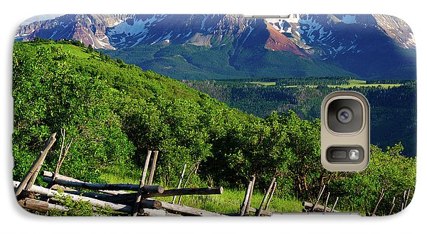Galaxy Case featuring the photograph A Summer In Telluride by John De Bord