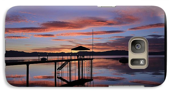 Galaxy Case featuring the photograph A Sunrise To Wake The Dead  by Sean Sarsfield