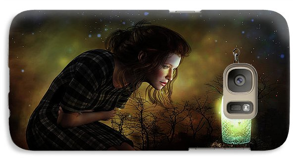 Galaxy Case featuring the digital art A Thousand Hugs by Shanina Conway