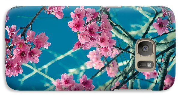 Galaxy Case featuring the photograph A Time To Blossom by Karen Musick