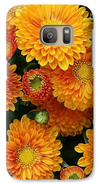 Galaxy Case featuring the photograph A Touch Of Autumn by Bruce Bley