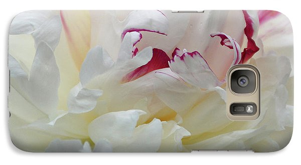 Galaxy Case featuring the photograph A Touch Of Color by Sandy Keeton