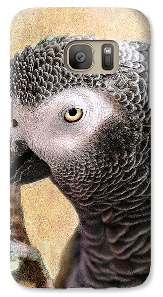 Galaxy Case featuring the photograph A Touch Of Grey 11 by Betty LaRue