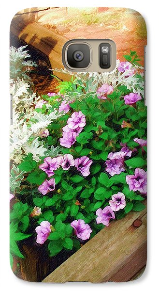 Galaxy Case featuring the painting A Touch Of Nature by Sandy MacGowan