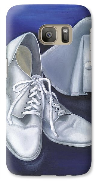 Galaxy Case featuring the painting A Tradition Of White by Marlyn Boyd