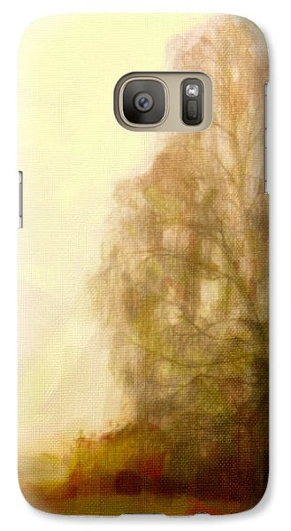 Galaxy Case featuring the painting A Tree by Chris Armytage