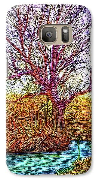 A Tree Greets Springtime Galaxy S7 Case