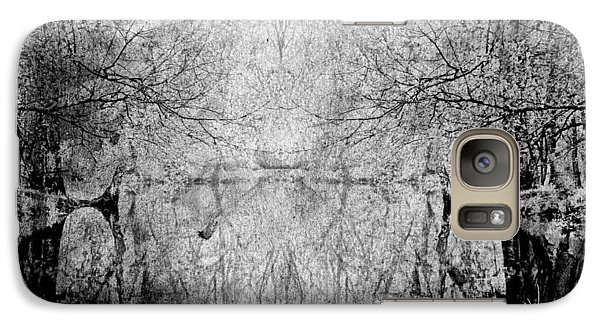 Galaxy Case featuring the photograph A Tribute To Collins Creek by Jim Vance