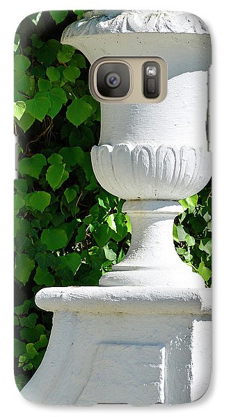 Galaxy Case featuring the photograph A Vase Of Light And Shadows by Bruce Gourley