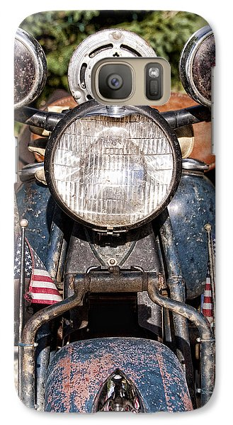 A Very Old Indian Harley-davidson Galaxy S7 Case by James BO  Insogna