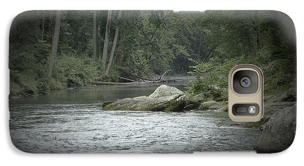 Galaxy Case featuring the photograph A View Downstream by Donald C Morgan