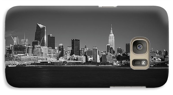 Galaxy Case featuring the photograph A View From Across The Hudson by Eduard Moldoveanu
