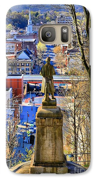 Galaxy Case featuring the photograph A View From College Hill by DJ Florek
