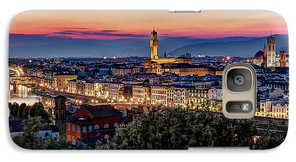 Galaxy Case featuring the photograph A View Of Florence by Brent Durken