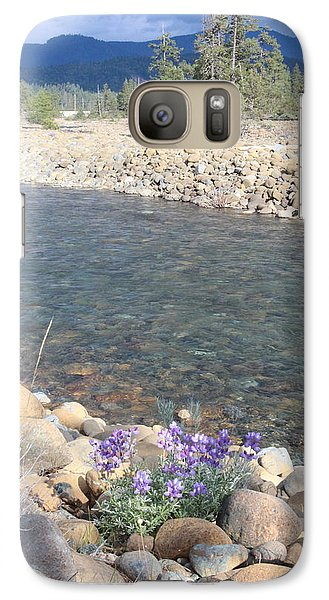 Galaxy Case featuring the photograph A View To A View by Marie Neder