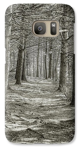 Galaxy Case featuring the photograph A Walk In Walden Woods by Ike Krieger