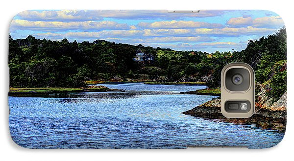 Galaxy Case featuring the photograph A Water View Newport Ri by Tom Prendergast
