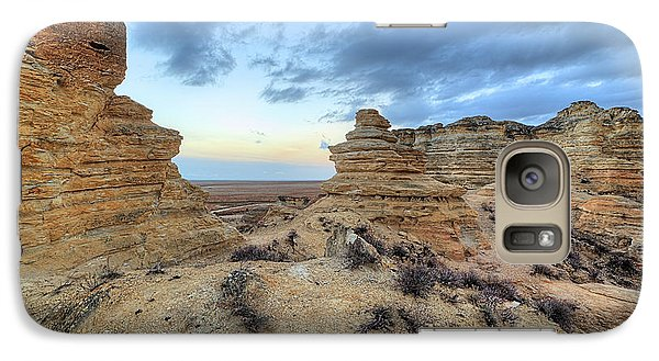Galaxy S7 Case featuring the photograph A Western Kansas Sunrise by JC Findley