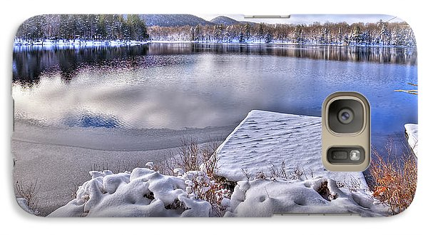 Galaxy Case featuring the photograph A Winter Day On West Lake by David Patterson