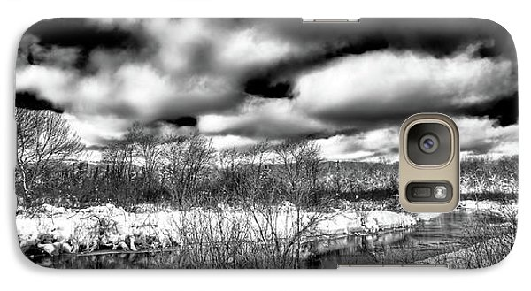 Galaxy Case featuring the photograph A Winter Panorama by David Patterson